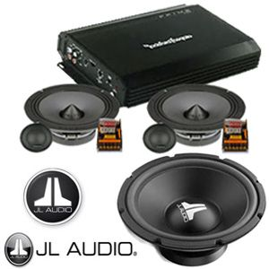 audio mobil rockford speaker split hertz dan subwoofer pinterest