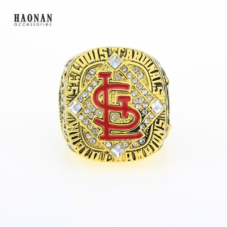 Factory wholesale promotional price for Sport Ring 2006 St.Louis Cardinals World Series replica Championship Ring, Free shipping