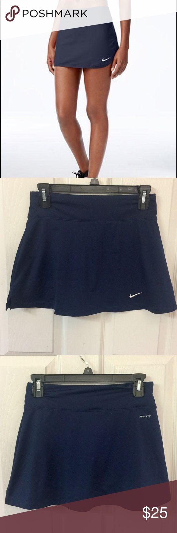 Nike Dri-Fit Tennis Skort. Size Small NWOT. Nike Dri-Fit Tennis Skort. Size Small. Never worn. Perfect for medium-impact exercise Dri-FIT moisture-wicking fabric Built-in shorts with ball pocket Dolphin hem Nike Shorts Skorts