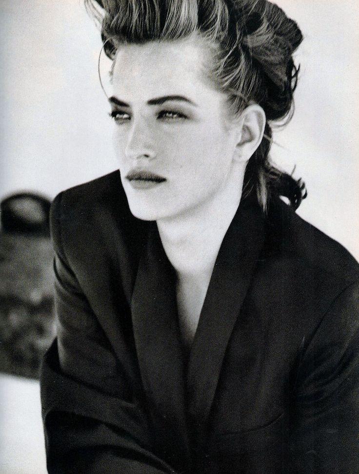 ☆ Tatjana Patitz | Photography by Peter Lindbergh | For Vogue Magazine Italy | October 1990 ☆