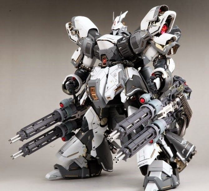 MG 1/100 Sazabi Ver Ka - Customized Build http://amzn.to/2kgkgLT