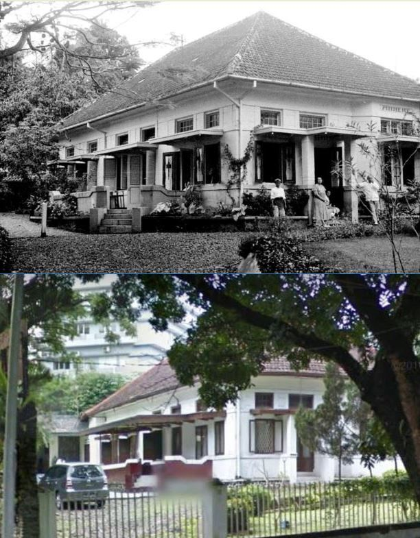 Woning in Nederland Indische, date unknown, ,., Rumah di Bogor, kini