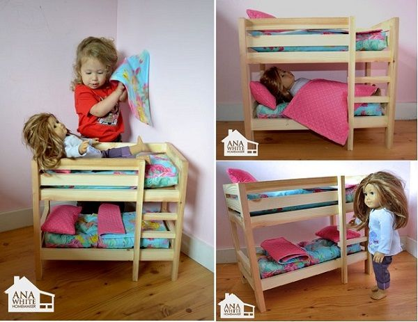 Diy Doll Bunk Beds Bebe Pinterest Bebe Interiors Inside Ideas Interiors design about Everything [magnanprojects.com]
