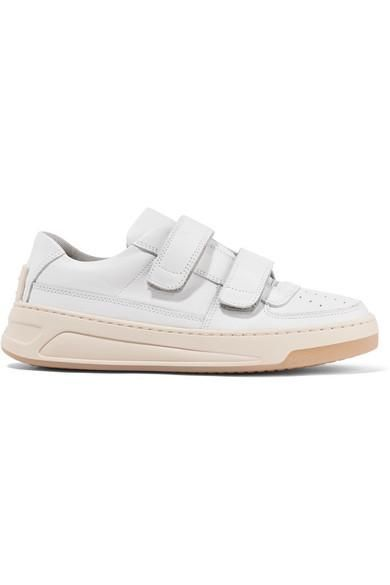 Acne Studios Steffey Leather Sneakers ($380)
