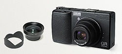 Ricoh GR Digital - Wikipedia, the free encyclopedia    Info for 1st anniversary version.