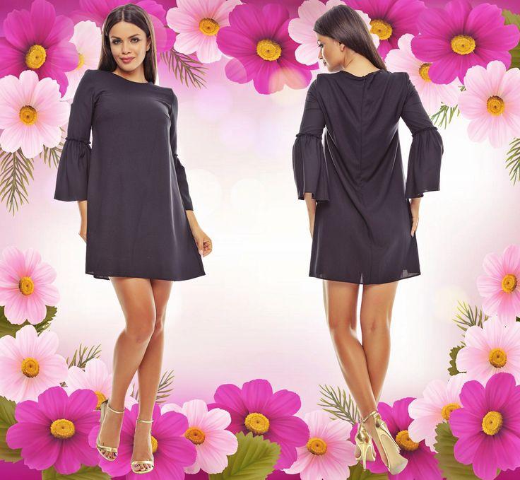 Astăzi, la Adrom Collection a sosit un model nou de rochie lejeră, comodă și vaporoasă. Aceasta se poate cumpăra online în sistem en-gros accesând link-ul de mai jos: http://www.adromcollection.ro/239-rochie-angro-r513.html