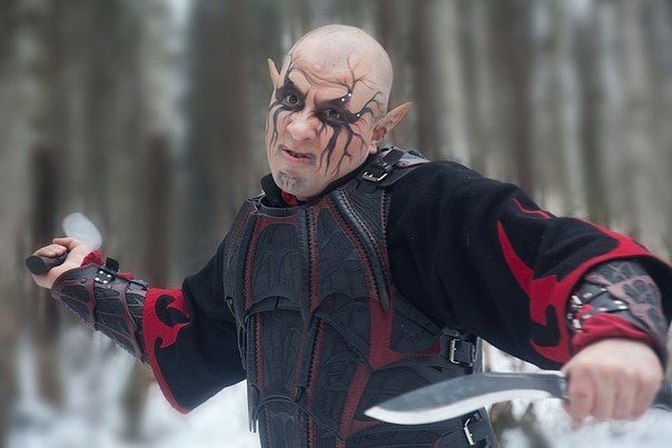 образ: темный эльф Image: The Dark Elf   make up