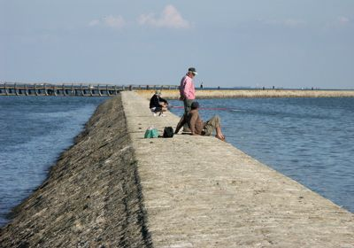L'EPINE en l'île de Noirmoutier - La jetée des îleaux