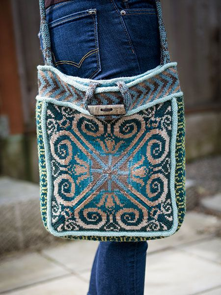Knitting Pattern Knitting Bag : 25+ best ideas about Knitting Bags on Pinterest Handmade bags, Small sewing...
