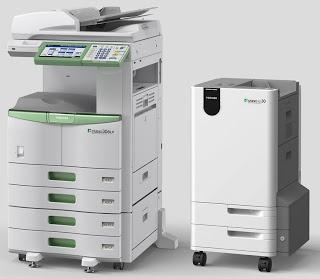 Toshiba Eco MFP - Verwijdert inkt van papier waardoor je het papier tot 5 maal kan hergebruiken. Milieu vriendelijk!