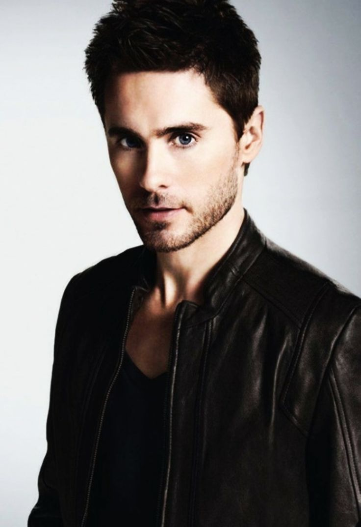 Jared Leto okay he was beautiful with short hair