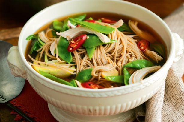 For a delicious Asian-style twist, add fragrant ginger and lemongrass.