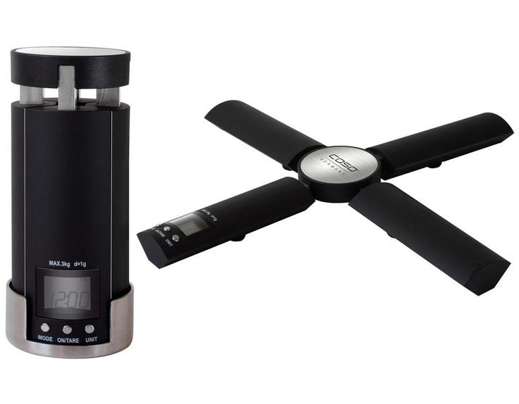 Spectacular elektr faltbare K chen B rowaage mit digitaler Uhr Edelstahl Kunststoff mehr