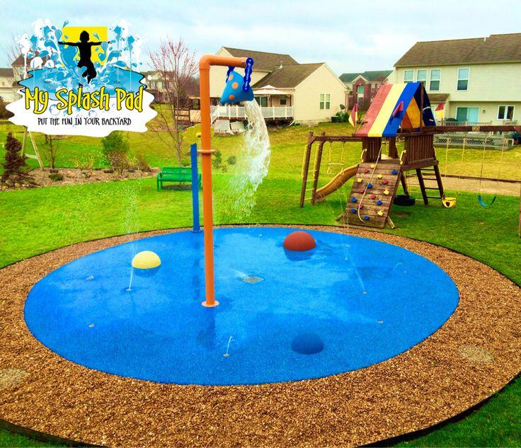 Pool Water Splash: Best 25+ Backyard Splash Pad Ideas On Pinterest