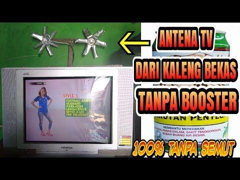 Cara Membuat Antena Dari Kaleng Bekas Jernih 100 Youtube Kaleng Youtube Antena