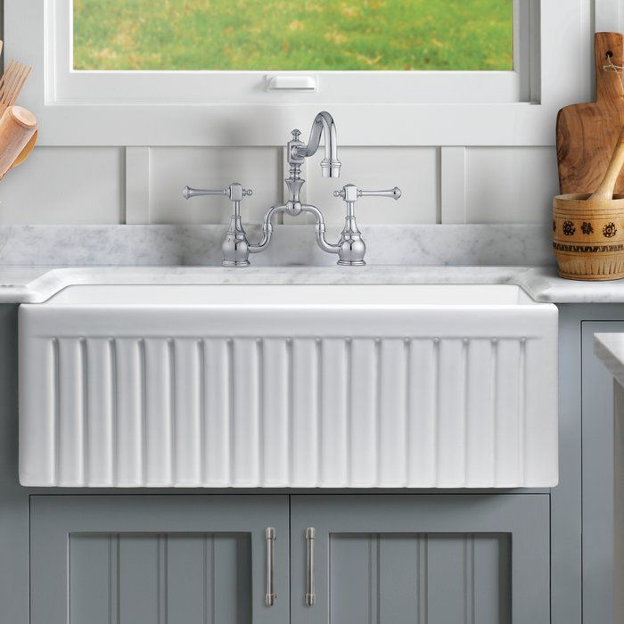 16+ Fluted apron sink ideas