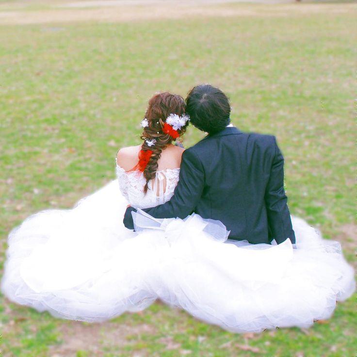 撮影アイテムなしの可愛いウェディングフォトポーズまとめ | marry[マリー]