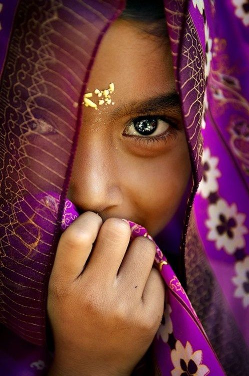 India- what a beautiful little girl!