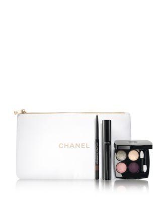 CHANEL 4-Pc. STRIKE GOLD Eye Makeup Gift Set | macys.com