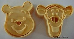 Pooh & Tigger Cookies / Bread Mould