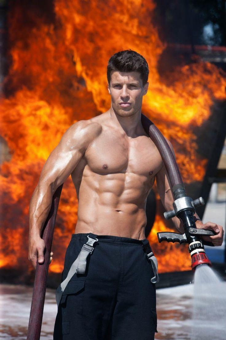 Naked fire fighter hot webcam