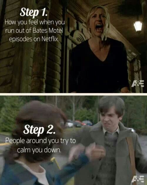 Bates Motel! This is surprisingly accurate