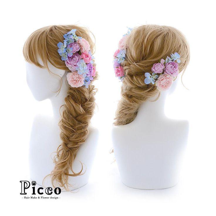 🌸 Gallery 429 🌸 . 【 結婚式髪飾り 】 . #Picco #オーダーメイド髪飾り #カラードレス #結婚式 . ピンク&パープルの配色が可愛いドレスに合わせて、ローズと小花をサイドに盛った素敵アレンジ💕 ドレスの色に馴染んだ髪飾りで、ウェディングシーンを華やかに演出します✨ . . #ピンク #パープル #ローズ #プリンセス #ウェディングヘア . デザイナー @mkmk1109 . . #ヘッドパーツ #髪飾り #ヘッドドレス #花飾り #造花 #ウェディングドレス #披露宴 #パーティー #プレ花嫁 #花嫁 #ウェディングフォト #結婚式前撮り #結婚式準備 #ブライダルヘア #ウェディングヘア #ウェディング #ウェディングアイテム #ウェディングフォト #ウェディング小物 #follow #hairstyle