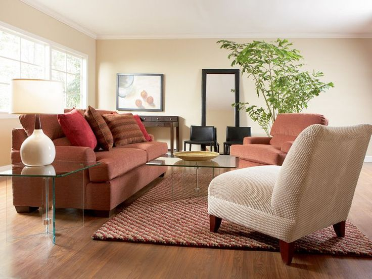 This Well Appointed Living Room Collection Centers On The Livingston Sofa,  In A Soft