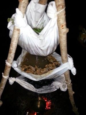The Homestead Survival   Bushcraft Tripod Clean Water Filter Using Natural Materials   http://thehomesteadsurvival.com