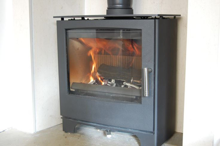 Eurostove Mendip Woodland Stove DEFRA approved on LIVE display in our Colney Heath Showroom