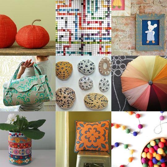 Top 100 Craft tutorials of 2010: Crafts Ideas, Tops Tutorials, 100 Crafts, Diy Tutorial, Crafts Tutorials, Tops 100 Tutorials 2010, Diy Projects, Sewing Tutorials, 100 Tops