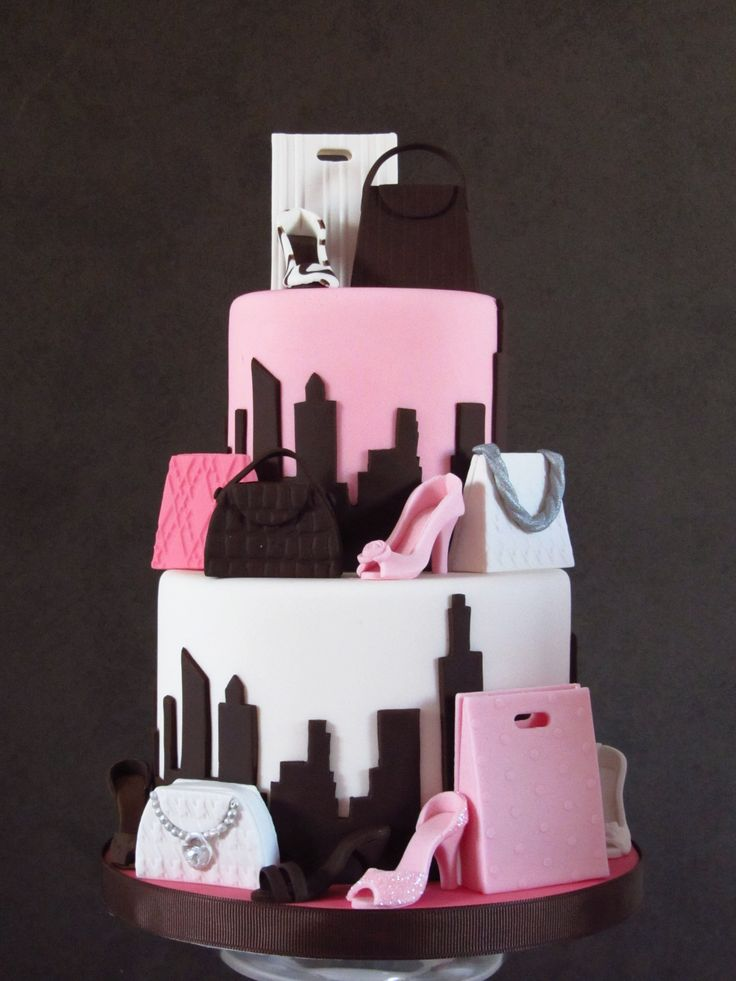 30 Best Designer Fashion Birthday Cakes                                                                                                                                                     More
