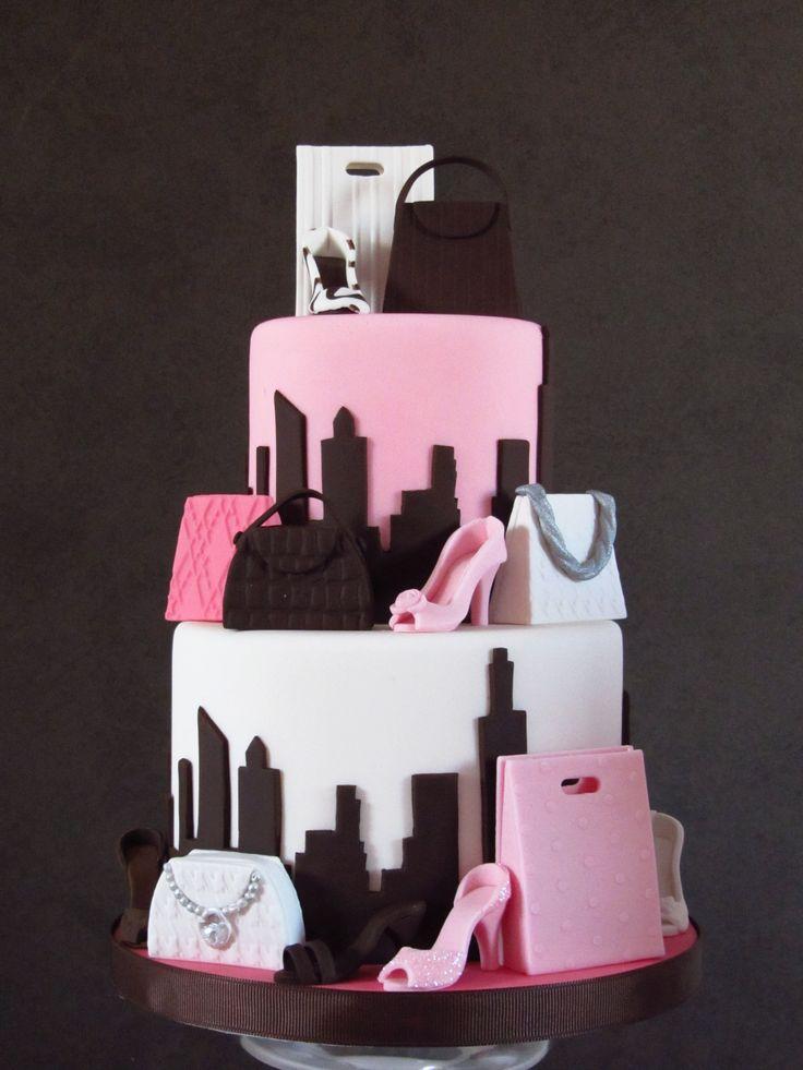30 Best Designer Fashion Birthday Cakes                                                                                                                                                     More