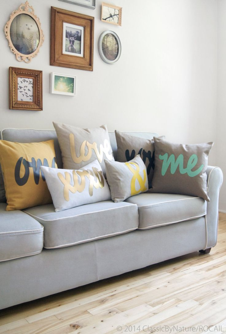 Personalized Word Pillow / Letters, Symbol, Text Pillow Cover, Cushion Cover, Decorative Pillow, 18x18 or 45x45 Pillow For Modern Home Decor by ClassicByNature on Etsy https://www.etsy.com/listing/87673424/personalized-word-pillow-letters-symbol