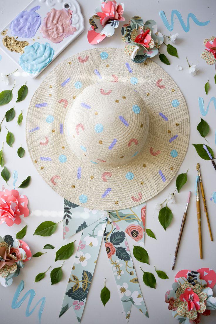 http://www.muitaihania.com/2016/05/27/tee-itse-ihanin-kesahattu/  Lovely summer hat ! <3