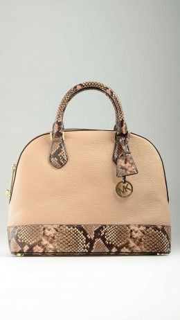 Python insert blush Smythe bag