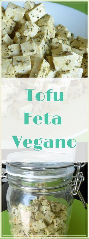 Tofu Feta, alternativa vegana al queso feta de leche de oveja. Provee 9 gramos de proteina de plantas por cada porción de 3 oz. Le va a encantar!