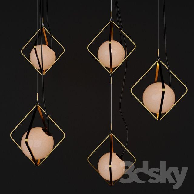 3d Models Ceiling Light Pendant Lights
