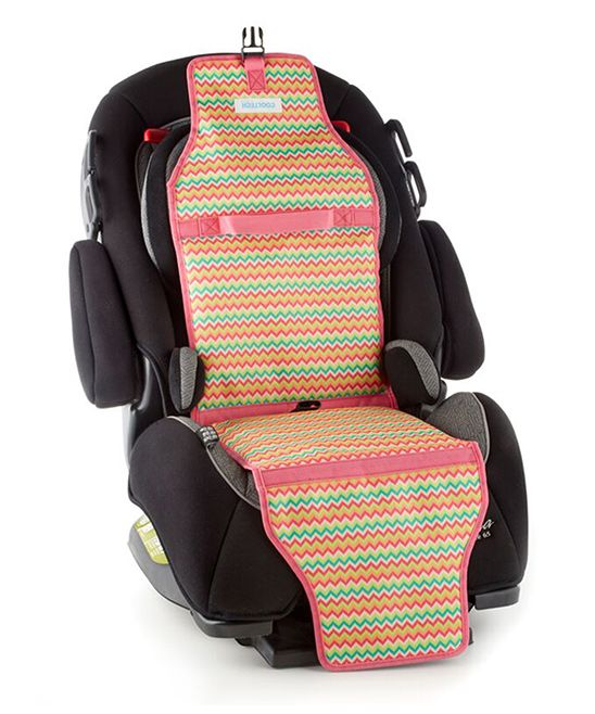 pink stripe cooltech car seat cooler car seat cooler and products. Black Bedroom Furniture Sets. Home Design Ideas