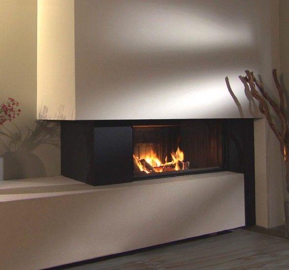 De #Spartherm Varia Ah-2 inbouw haard behoort tot de serie Linear #houtkachels.  De #haard is voorzien van het unieke gepatenteerde #liftdeursysteem waardoor en geen lijsten zichtbaar zijn en een optimaal zicht op het vuur overblijft.   Het #glasraam is kantelbaar voor een eenvoudige reiniging.  Het keramisch glas is aan 3 of 4 zijden bedrukt. #Kampen #Fireplace #Fireplaces #Interieur