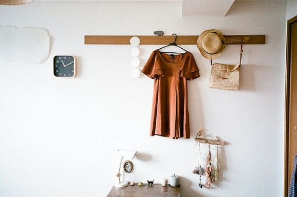 Post image for Clothes as Home Décor: Would you do it?