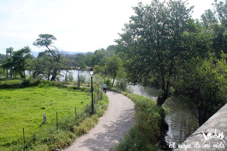 Paseo Fluvial Plasencia Extremadura España