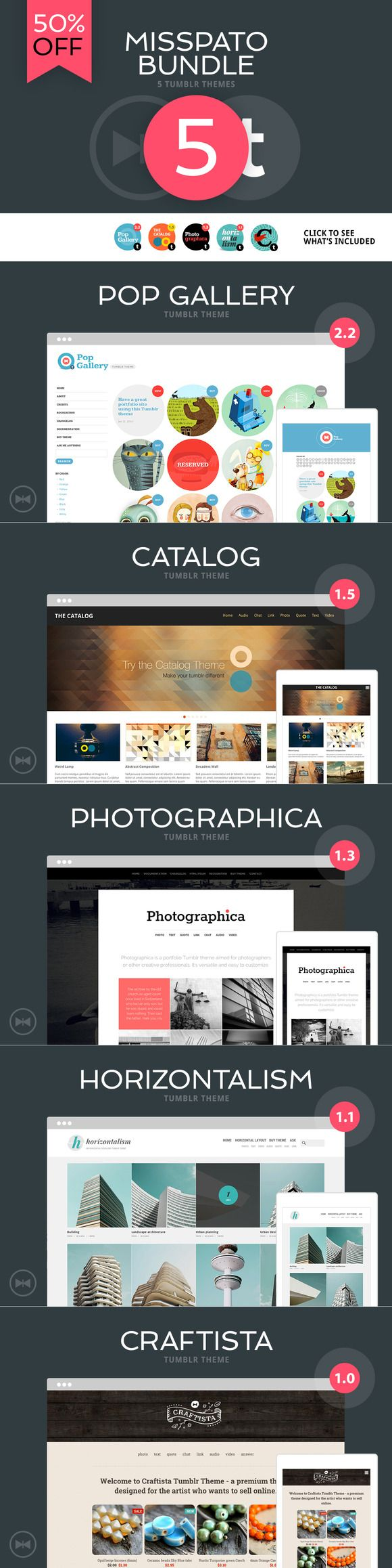 Check out MISSPATO BUNDLE - All Tumblr Themes by misspato on Creative Market