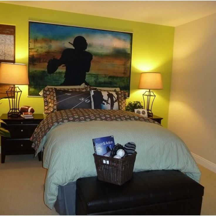 17 Best Ideas About Football Themed Rooms On Pinterest Boy Teen Room Ideas Football Bedroom