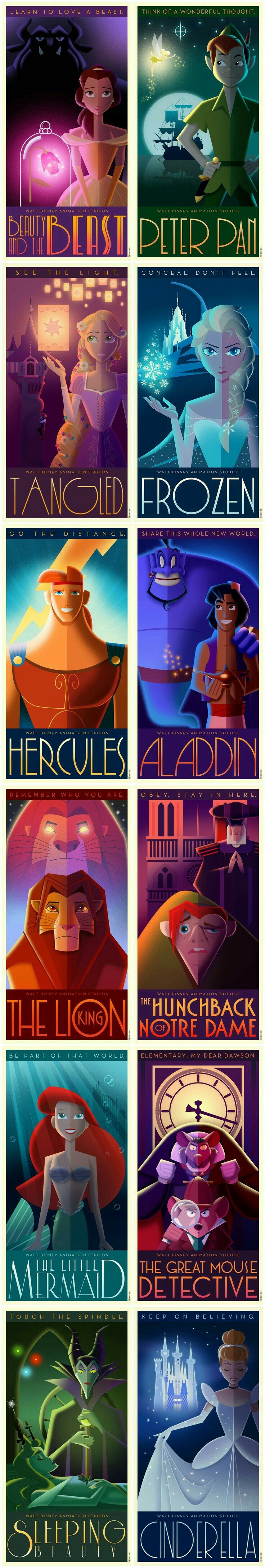 Disney velvet coloring posters - If Disney Movies Were Made In The 1920 S