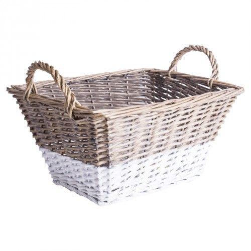 SCANDI Basket (Grey/White) | Baskets | JYSK Canada
