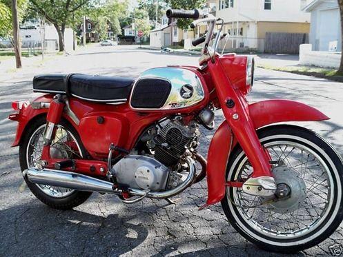 1966 Honda Benly 125 Cc