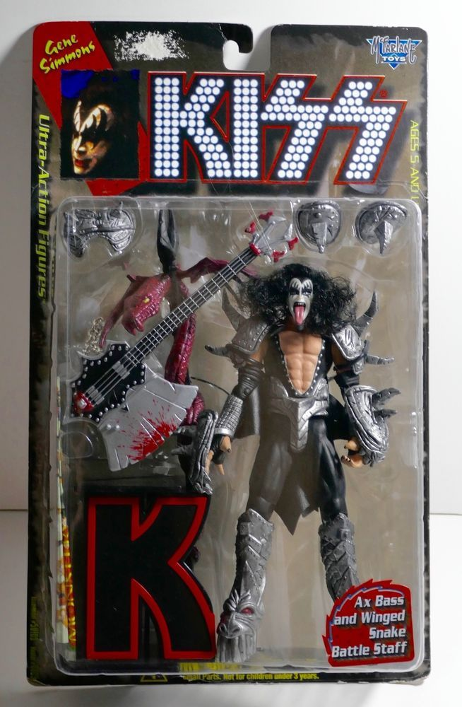 Mcfarlane Toys 1997 Kiss Gene Simmons Ultra Action Figure Doll New
