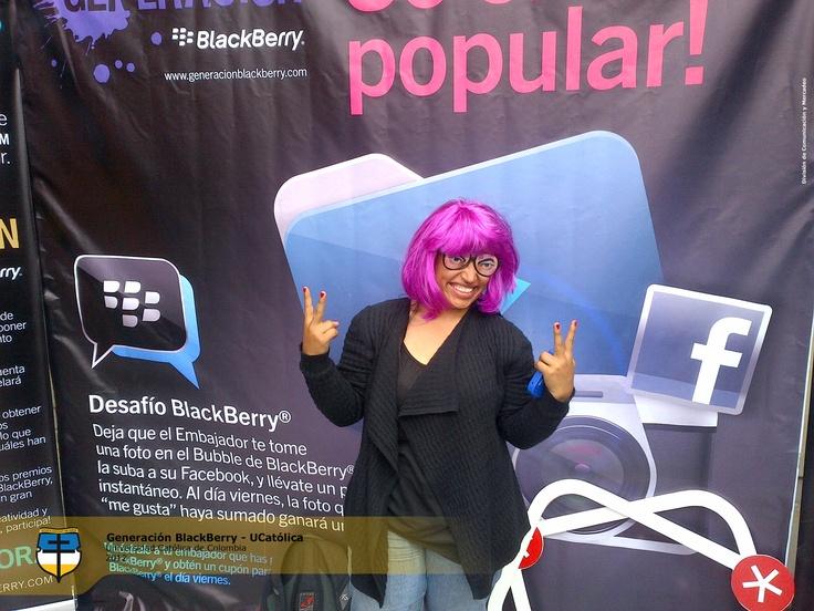 Los Más Populares de Generación Blackberry UCatólica.