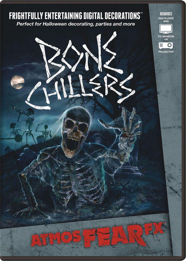 Bone Chillers DVD Halloween Virtual Window Projection Prop